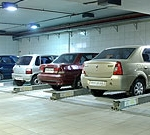 Combilift 542 is an example of Two Level Car Parking Systems