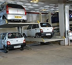 Parklift 411 is an example of Stack Parking
